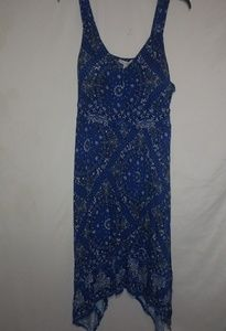 American Rag Sexy Blue Bandana Dress 3X Plus